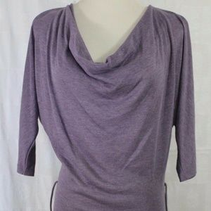 Women's Summer Dress Love Culture Purple Medium